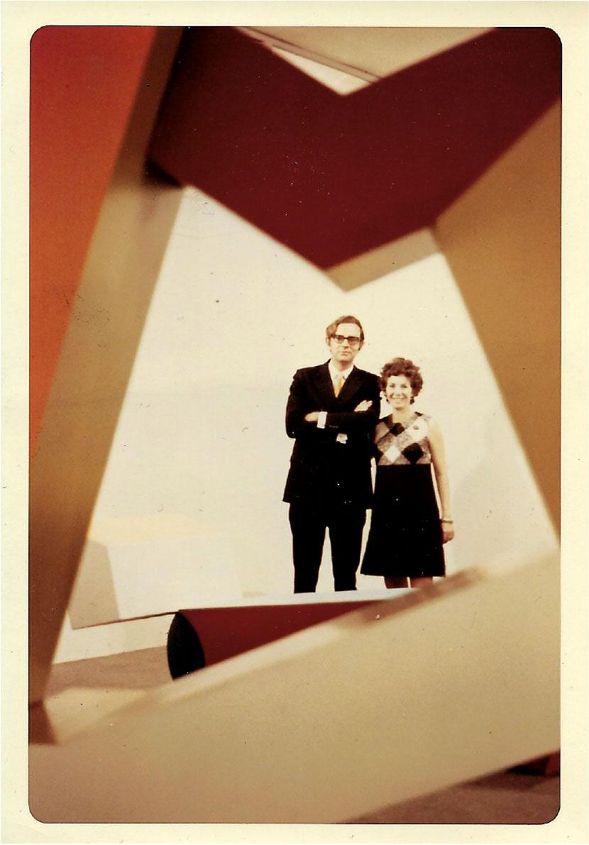 Annina Nosei e John Weber