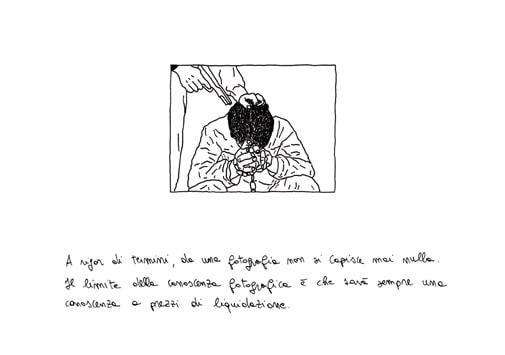 Cesare Viel, Diario Contemporaneo, 2004, inchiostro e matita su carta. Courtesy Pinksummer, Genova