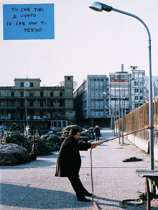 Cesare Viel, Esterni di sé, 1998, stampa fotografica e colori su alluminio