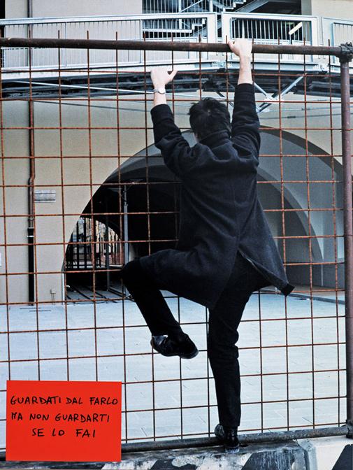 Cesare Viel, Esterni di sé, 1998, stampa fotografica