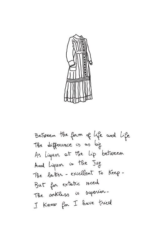 Cesare Viel, Thank you Emily (part.2), 2002, disegno stampato e plastificato. Courtesy Pinksummer, Genova
