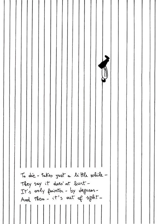 Cesare Viel, Thank you Emily (part.4), 2002, disegno stampato e plastificato. Courtesy Pinksummer, Genova