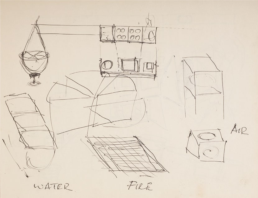 Gordon Matta-Clark, Notebook FOOD. Courtesy Harold Berg
