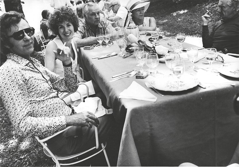 John Weber e Annina Nosei a Venezia, 1966