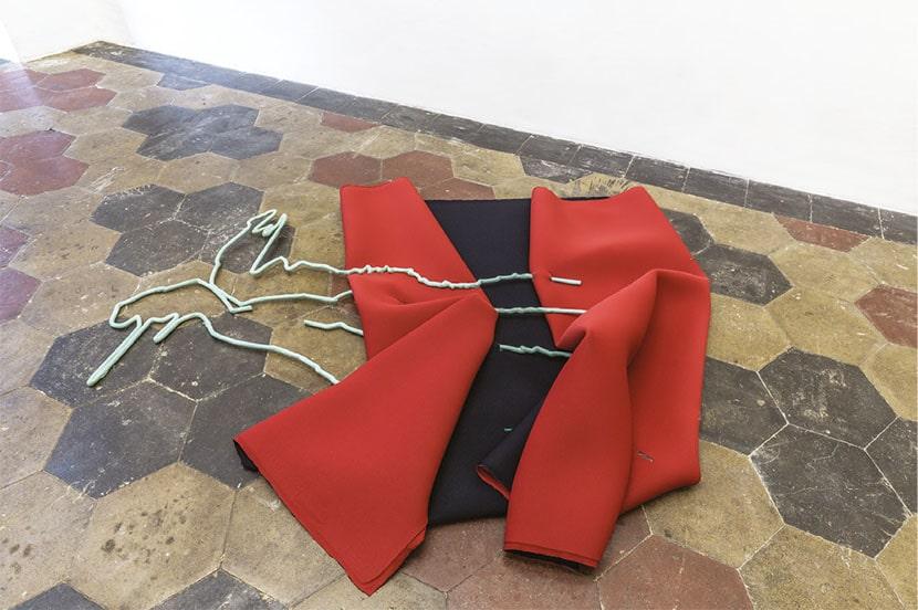 Sara Enrico, Mirroring, veduta della mostra, 2019, Quartz Studio, Torino. Foto Beppe Giardino. Courtesy Quartz Studio e l'artista