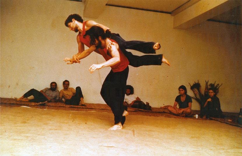 Steve Paxton, Contact Improvisations, Galleria L'Attico, Roma, 25-28 giugno 1973