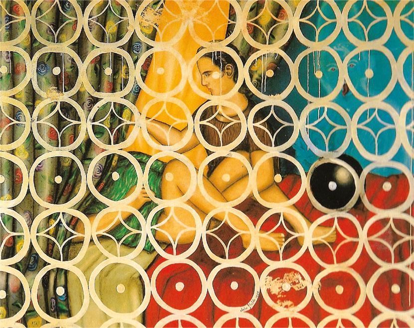 Julio Galán, El encantamiento 3, 1989. Courtesy Annina Nosei Gallery, New York