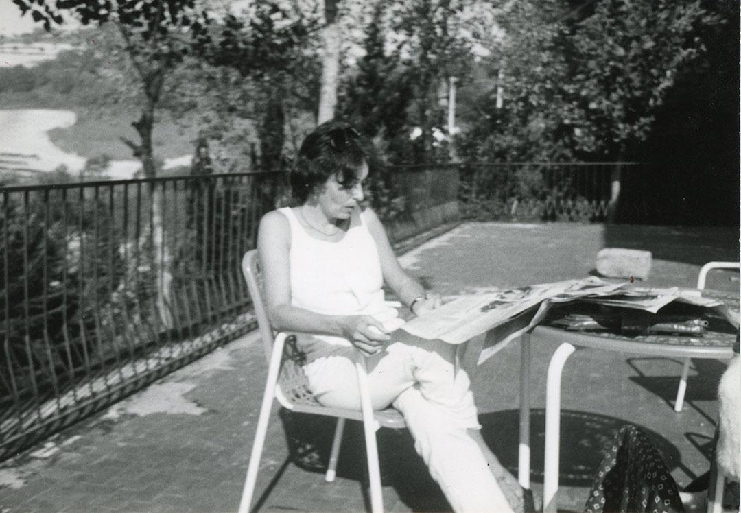 Anne-Marie Sauzeau Boetti. Courtesy Archivio Alighiero Boetti